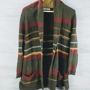 Woolrich Open Oversized Cardigan